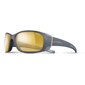 Julbo Montebianco Zebra Sunglasses Dark Gray/Yellow-Yellow/Brown